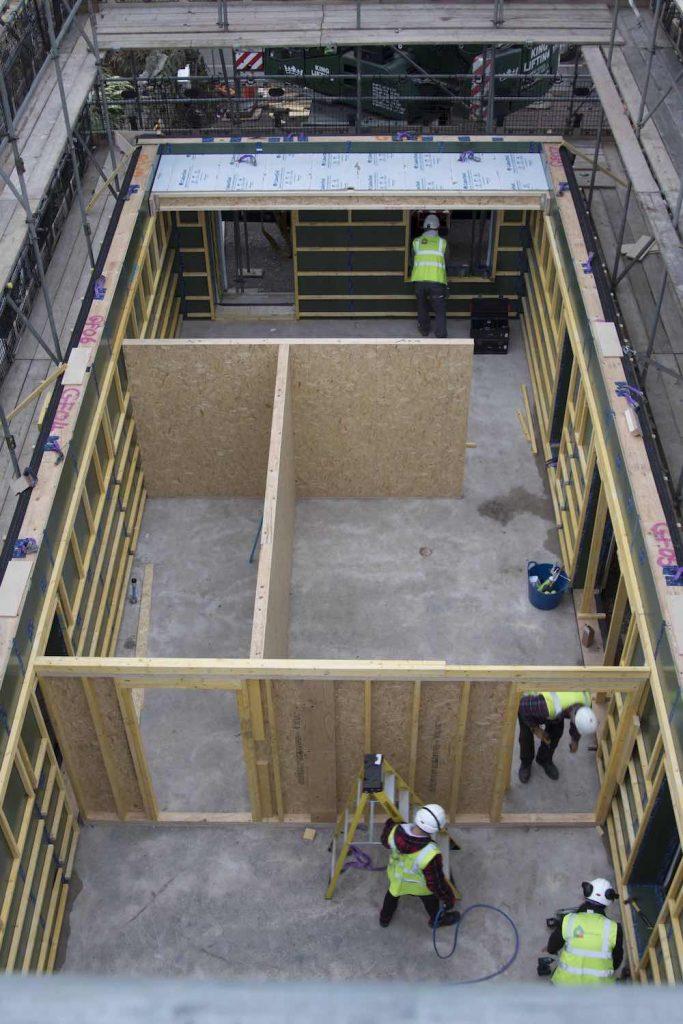 Timber frame passivhaus - Chepstow Passiframe